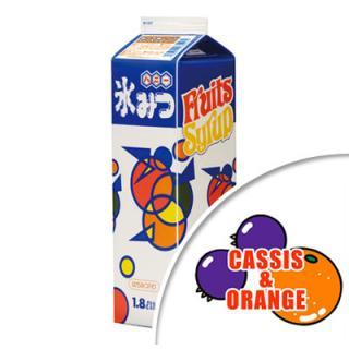 かき氷シロップ[カシスオレンジ味] 1.8L