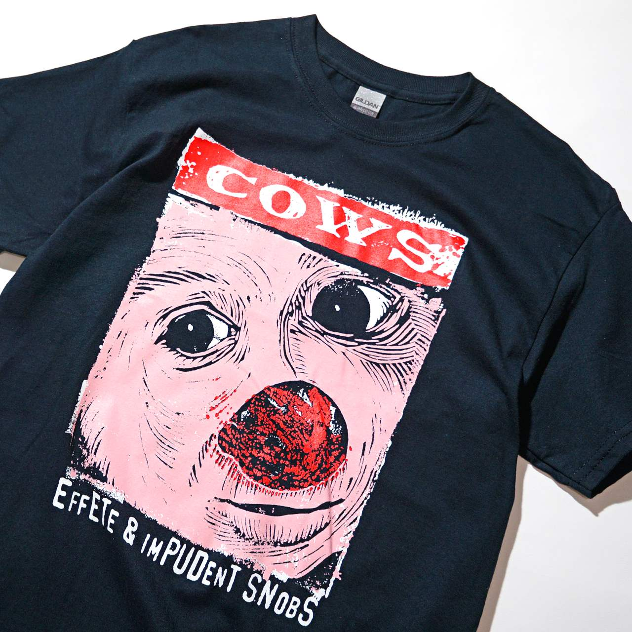 COWS バンドTシャツ Effete and Impudent Snobs
