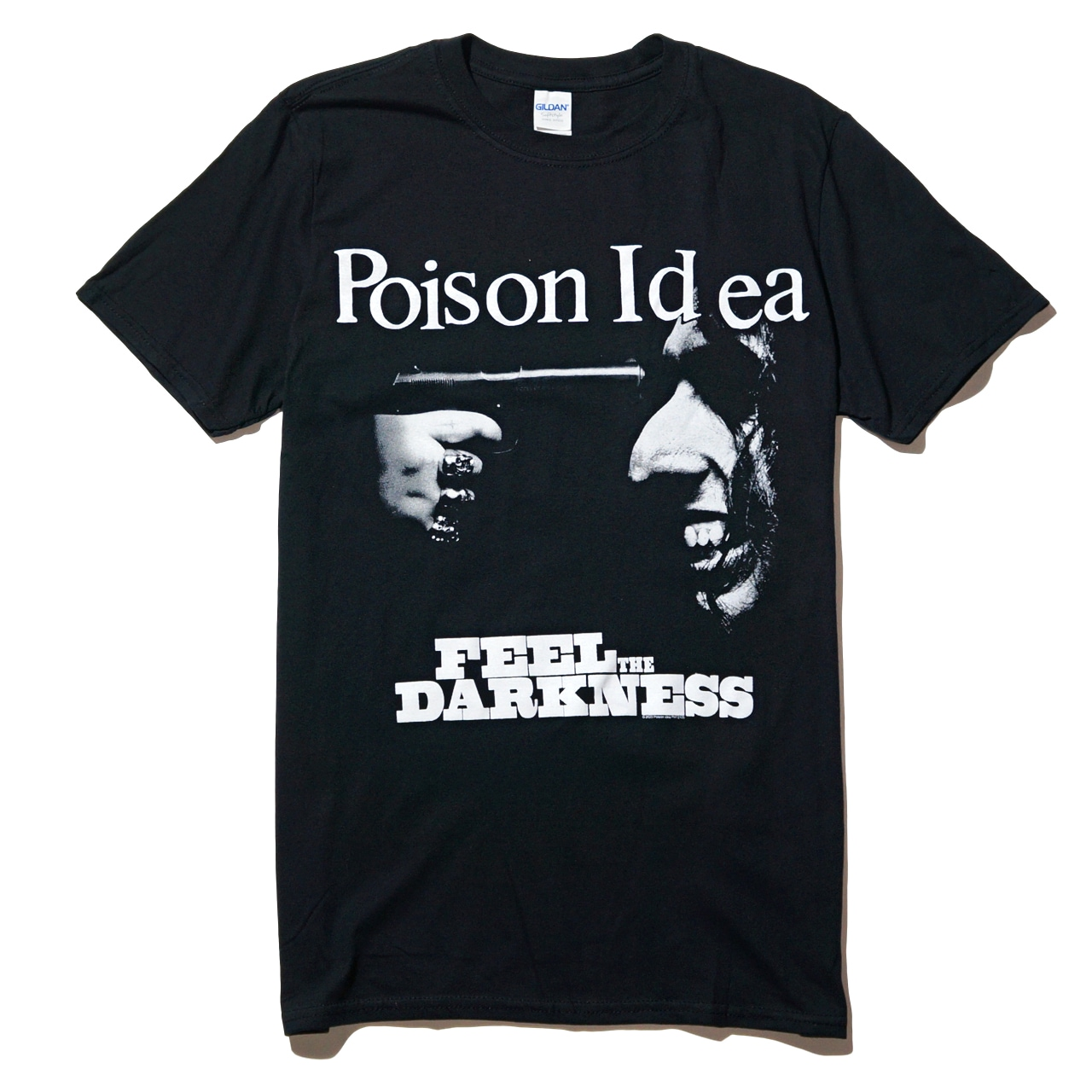 POISON IDEA Tシャツ Feel The Darkness-Black