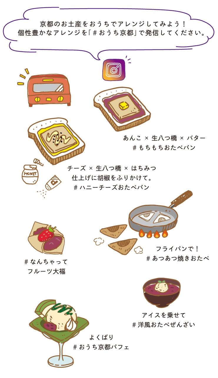 京都のお土産を自宅でアレンジしてみよう! #おうち京都