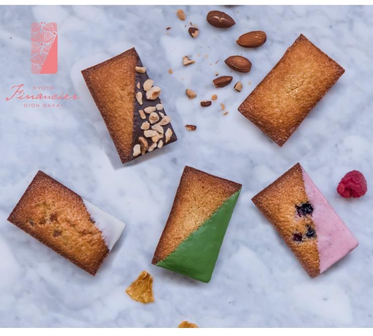 京都フィナンシェぎをんさかい:小麦粉を一切使用しない、アーモンドパウダーで作り上げたオリジナルフィナンシェの専門ブランド