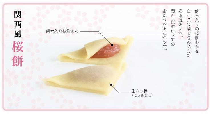 桜餅風味の生八つ橋