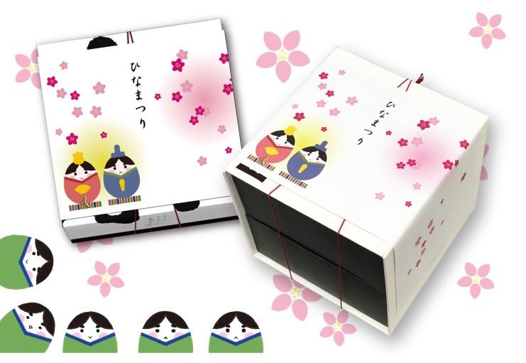 ◆桃の節句◆ひな祭り特集◆おひな様の掛け紙京ばあむ ご予約承ります