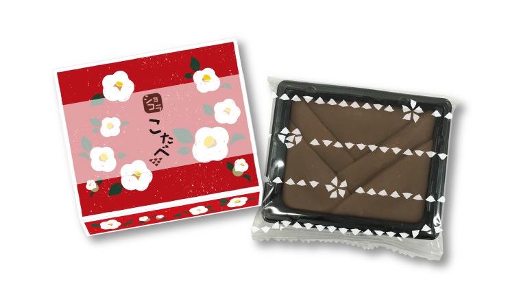 ちいさいおたべ こたべ ショコラ:ココアの生八つ橋にやわらかいチョコレート