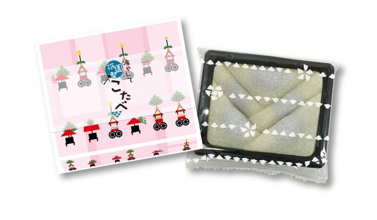 《祇園祭期間限定》こたべ なつ:わらび餅仕立てこしあん 祇園祭デザイン