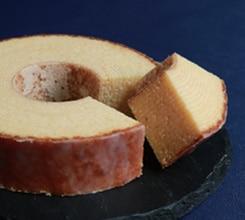 焦がし砂糖仕上げのバームクーヘン:菓まる