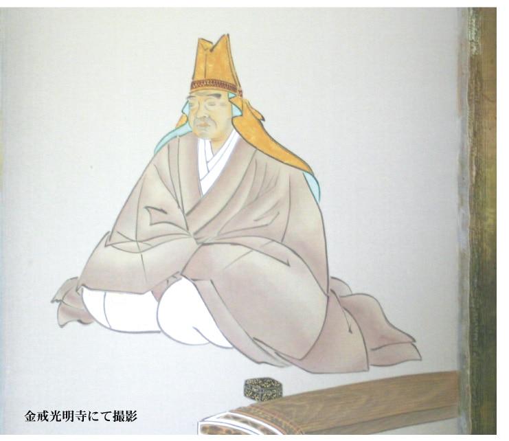 京都銘菓 八ツ橋:京都金戒光明寺にて撮影させていただいた八ツ橋検校の掛け軸