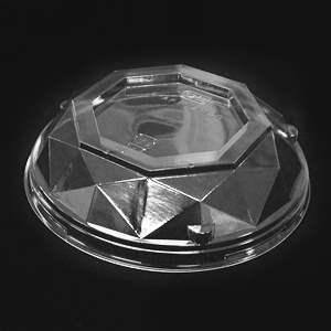 ダイヤカット型カップフタ