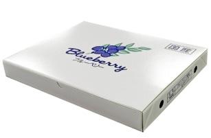 125gブルーベリー専用パック 12パック化粧箱