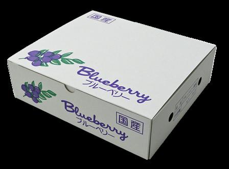 125gブルーベリー専用パック 8パック化粧箱