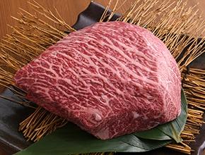 黒毛和牛メス牛上赤身もも肉ブロック1kg