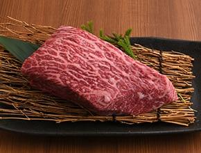 黒和和牛メス牛上赤身もも肉ブロック500g
