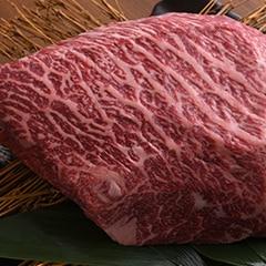 黒毛和牛メス牛上赤身もも肉ブロック 1kg