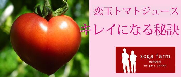 曽我農園 恋玉×フルティカ ブレンド〜キレイになる秘訣〜