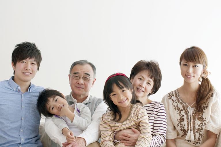 家族の笑顔のため