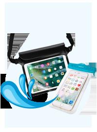 スマートフォン&タブレット防水ケース