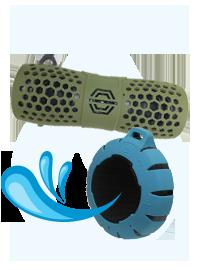 防水機能付きBluetoothスピーカー