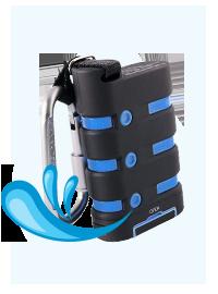 防水モバイルバッテリー