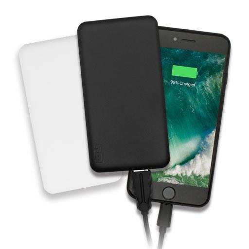 モバイルバッテリー 薄くて大容量5,000mAh SmartIC搭載 PSE適合商品