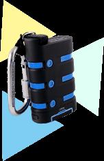防水機能付きモバイルバッテリー
