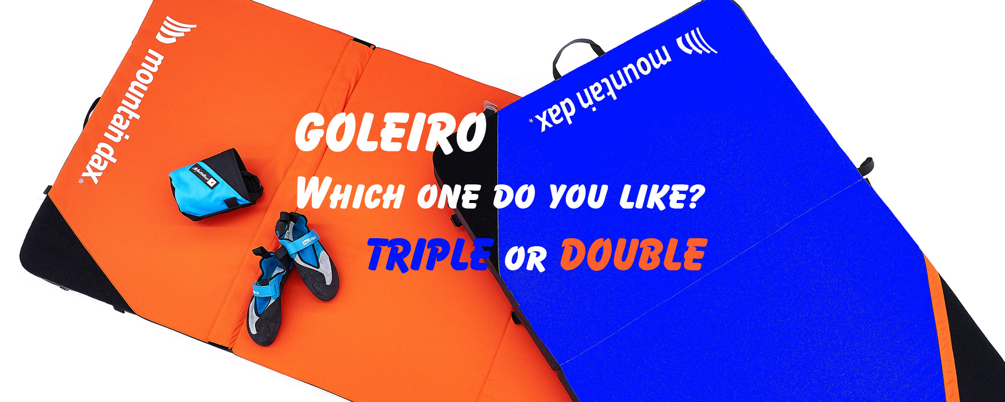 Which one do you like? Goleiro Double Goleiro Triple mountaindax