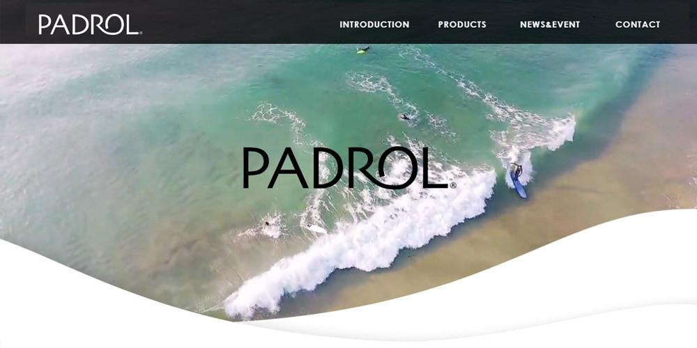 【PADROL】 ブランドサイトOPENしました。