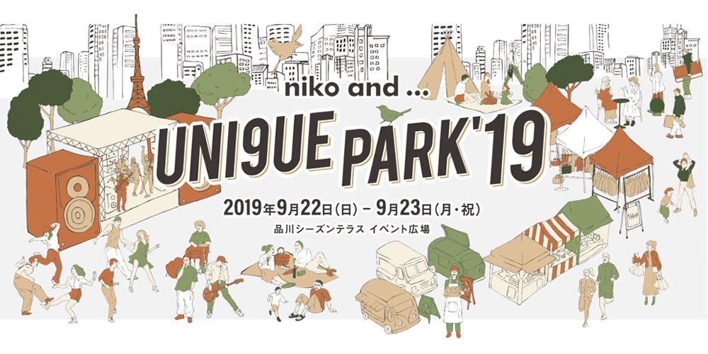 【nikoand...UNI9UE PARK】PADROL出店いたします。
