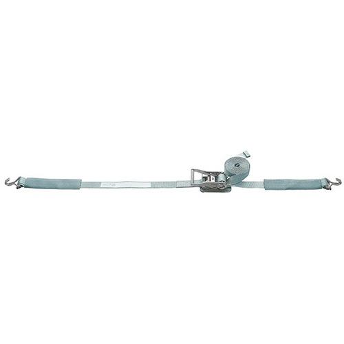 ベルト荷締機 Jフック/Eクリップ(巾50mm 固定1m 巻取6m)