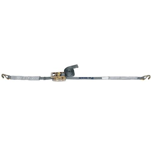 ベルト荷締機 Jフック(小型 巾38mm 固定0.5m 巻取4.5m)