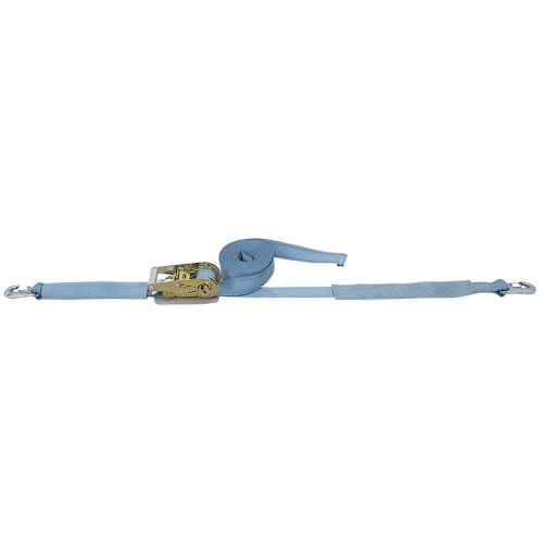 ベルト荷締機 カギフック(小型 巾38mm 固定0.3m 巻取7m)