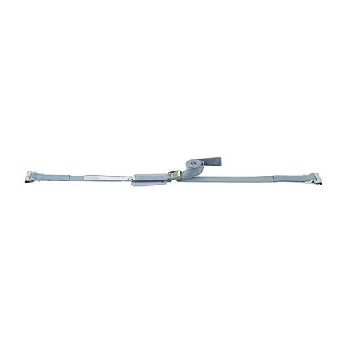 ベルト荷締機 Eクリップ(巾38mm バックルタイプ 固定0.6m 調整2.3m)