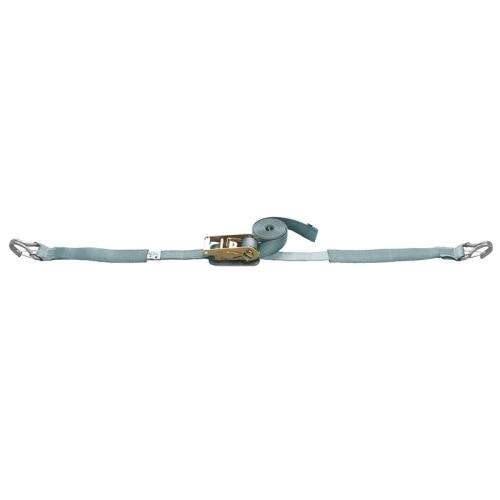ベルト荷締機 JIS Jフック(小型 巾38mm 固定1m 巻取7m スプリング付) 旧品番 6471620000 R387JS