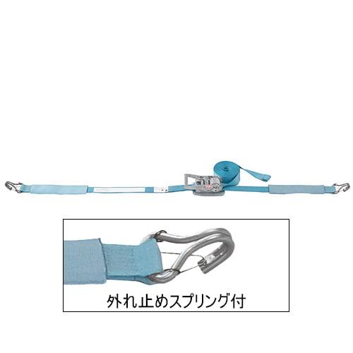 ベルト荷締機 JIS Jフック(巾50mm 固定1m 巻取7m スプリング付) 旧品番 6475320000 RF57JS