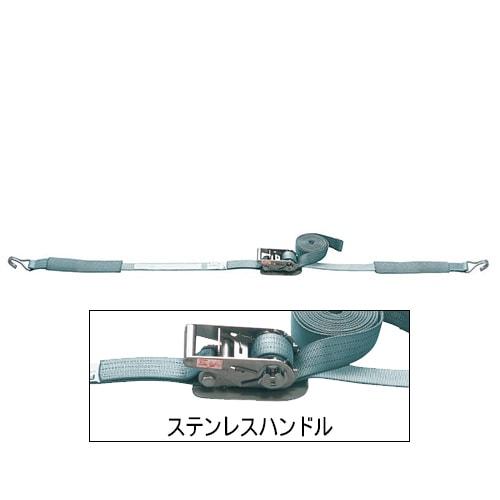 ベルト荷締機 JIS Jフック(巾50mm 固定1m 巻取5m ステンレス) 旧品番 6478210000 RSH50J
