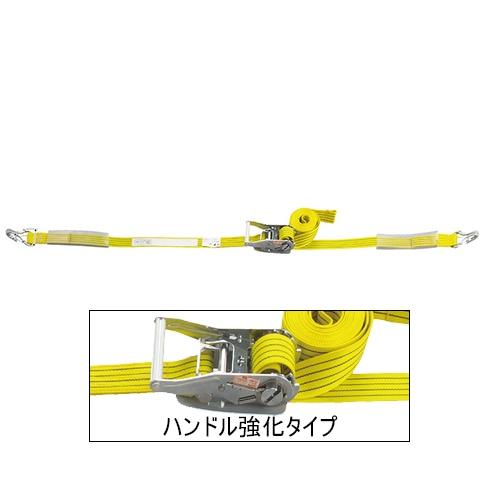 ベルト荷締機 JIS Jフック(巾50mm 固定1m 巻取5m 超高級 Pat.) 旧品番 6481000000 HC510J