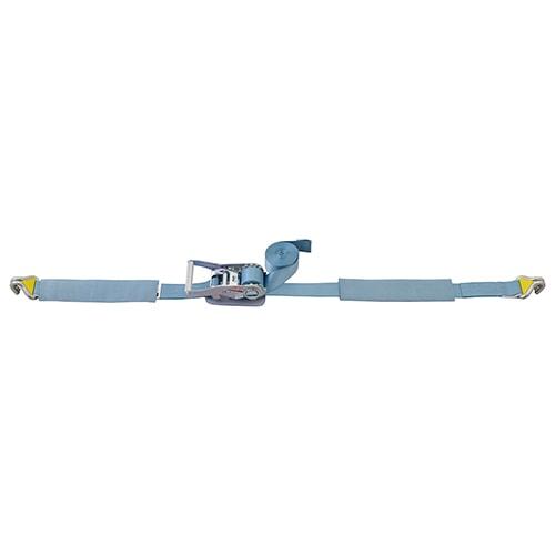ベルト荷締機 Jフック マグネット付(巾50mm 固定0.5m 巻取7m)
