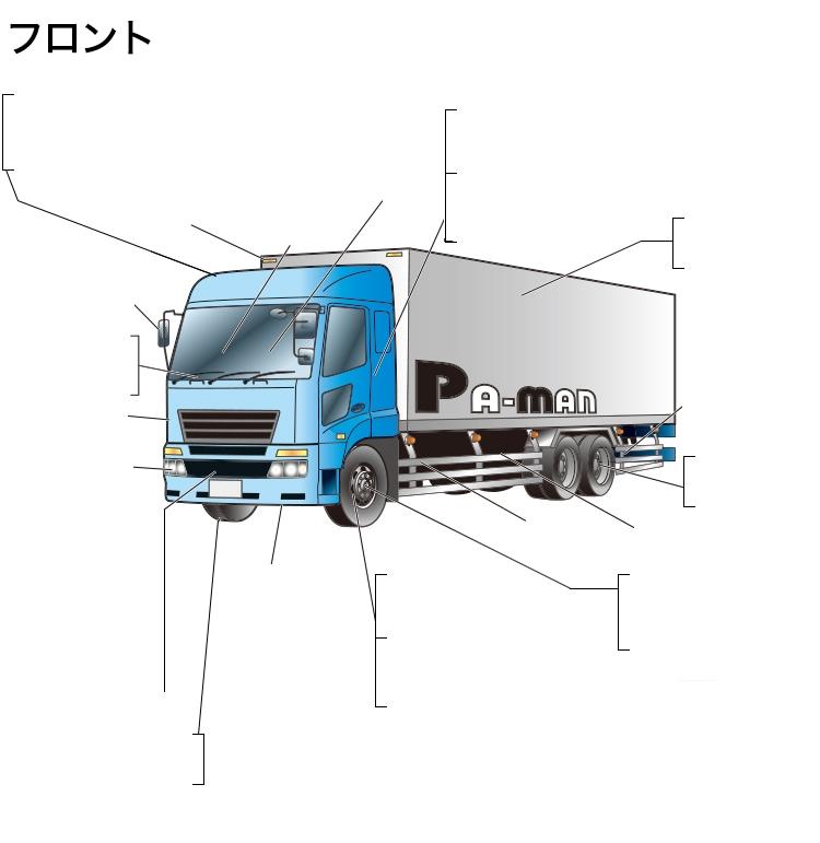 トラック部品をパーツ名から検索|トラック用品、大型車・物流用品通販 ...