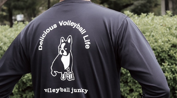 volleyball tennis junky 2019FW