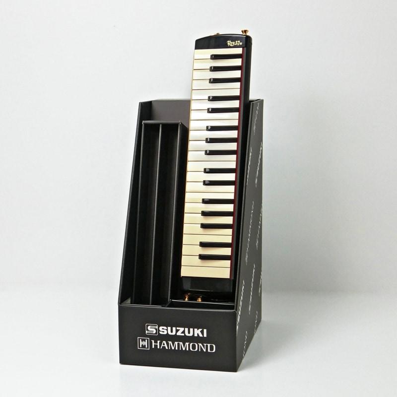 鍵盤ハーモニカ用展示什器
