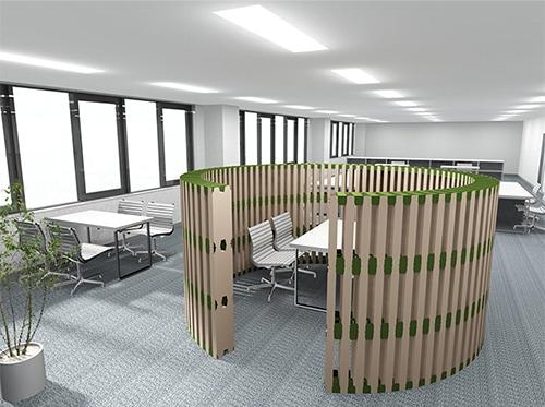 オフィスパーテーション