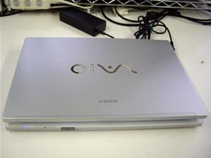このノートPCでCPU交換を行います