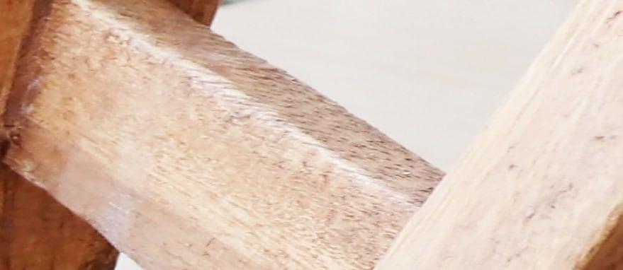 ひとつずつ職人の手作り、材料は天然素材アカシアを使用 壊れにくくお子様にも安心。
