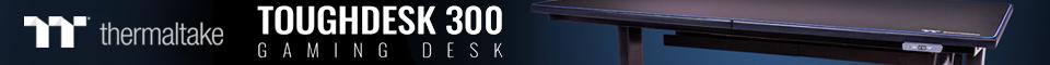 Thermaltake TOUGHDESK 300 Gaming Desk 電動昇降ゲーミングデスク