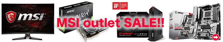 PC4U - MSI アウトレット 外箱不良 セール