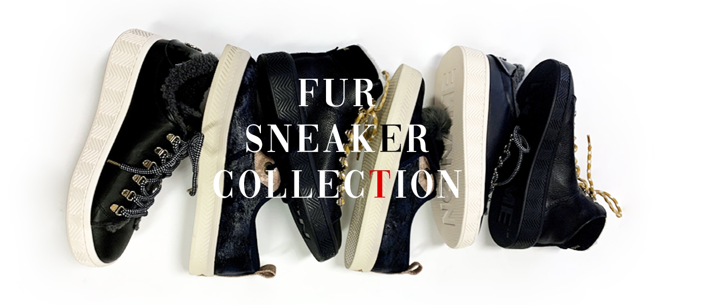 FUR SNEAKER COLLECTION