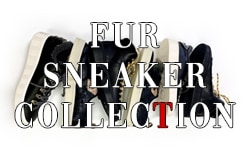 FUR SNEAKER COLLECTION 入荷