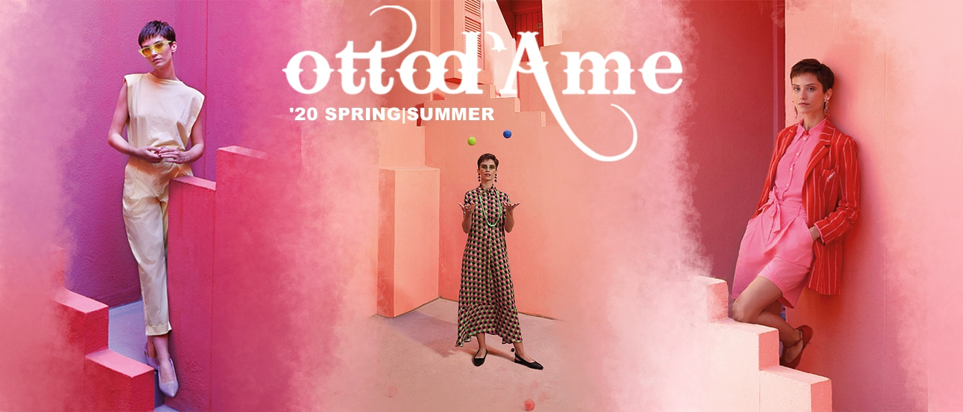 ottod'Ame,オットダム,2019 fall and winter collection