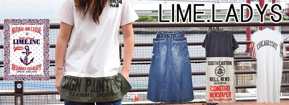 ライム,レディース,LIME,LIMEINC
