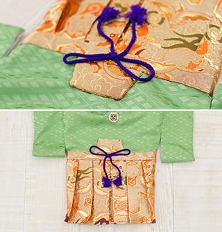 着物と袴がくっついている写真