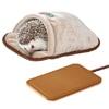 「ハリネズミのふんわり包み込むベッド」と「リバーシブルヒーター」のセット